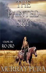 The Painted Sky - v1 Rio Oro cover