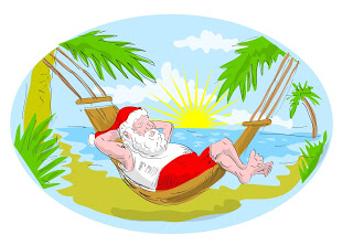 santa-claus-in-hammock-relaxing-in-tropical-beach
