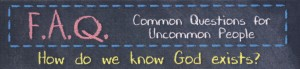 FAQ #1-God Exist