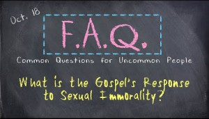 FAQ #5-Sexual immorality